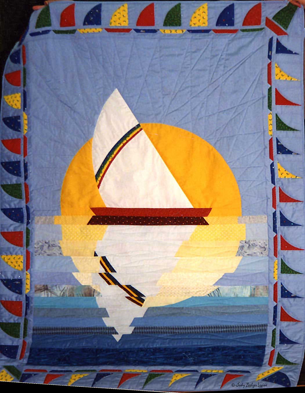 Sailboat Baby Quilt 2