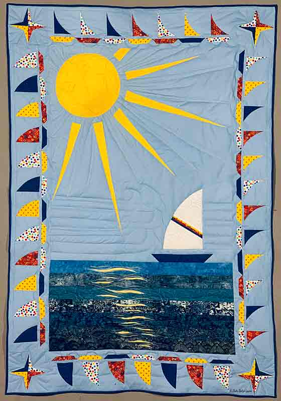 Sailboat Baby Quilt 3